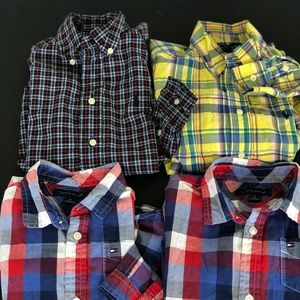 Tommy Hilfiger Ralph Lauren boy 4t button up shirt